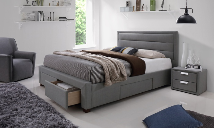 Colchester Four-Drawer Bed Frame with Optional Mattress from £310