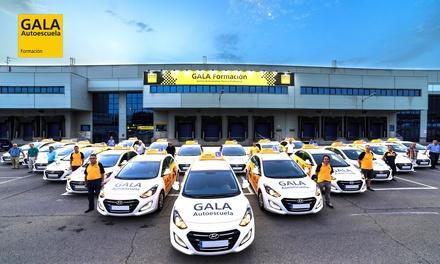 Curso para obtener el carné con teórico, libros, matrícula y 4 o 6 prácticas desde 19,95€ en 52 centros Autoescuela Gala