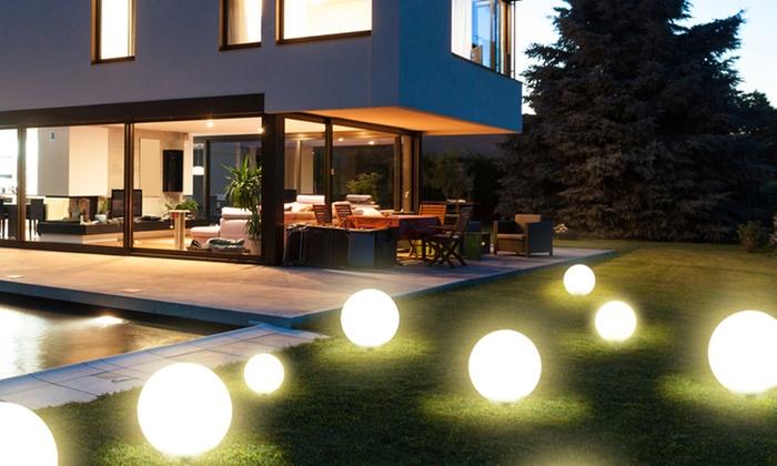 Luci giardino ad energia solare groupon goods