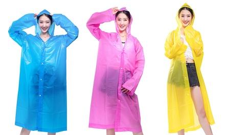 1 of 3 regenjassen voor dames