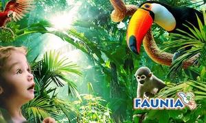 Faunia: 1 entrada general (Adulto/Infantil/Senior) al parque zoológico Faunia por 17,95 €