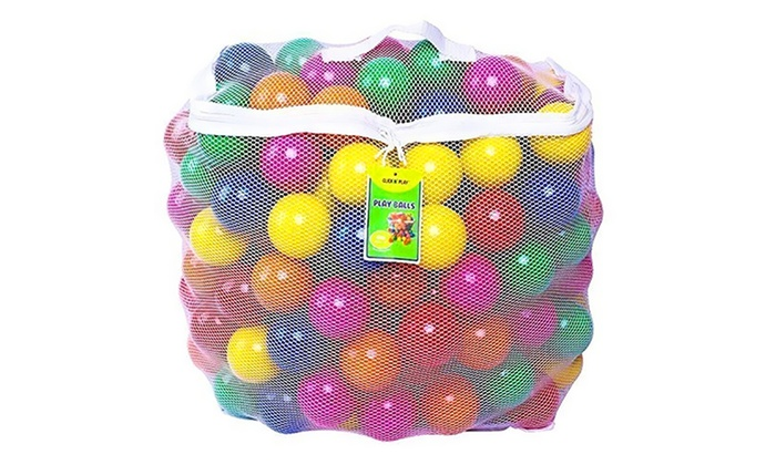 Click Nu0027 Play Ball Pit Balls (400 Count) With Storage Bag ...