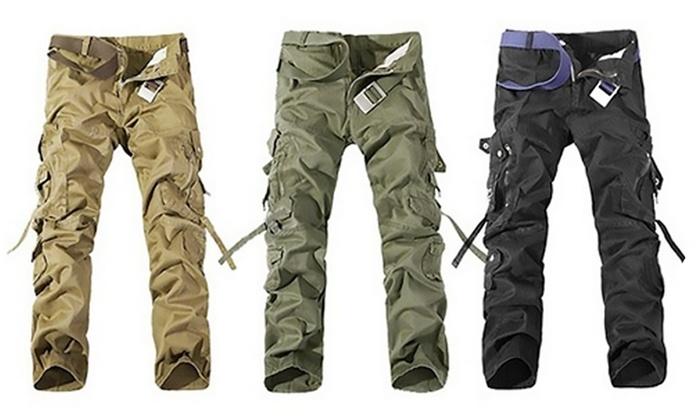 Pantalon homme style treillis | Groupon