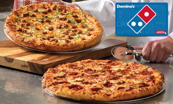 $20 for $25 Domino's eGift card