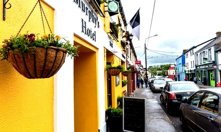 Co. Sligo: 1 to 3 Nights for Two with Breakfast, Dinner and Wine at Murphy's Hotel