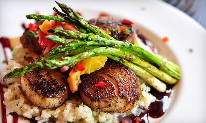 Corrine's - Pawtucket: French and American Fare and Drinks at Corrine's in Pawtucket (Up to 55% Off). Two Options Available.