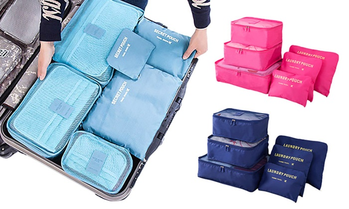 Set di 6 organizer per valigia | Groupon Goods