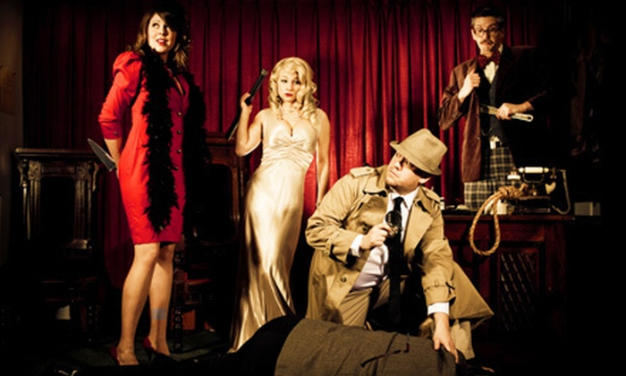 The Murder Mystery Company - Eastpointe: Dinner Show for One or Two from The Murder Mystery Company in Eastpointe (Up to US$120 Value)
