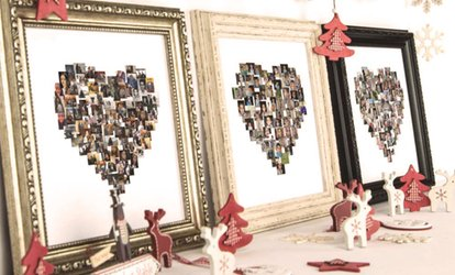 "image for Framed Collage Print from Mezoo (10""x10"" or 15""x15"") (Up to 95% Off)"