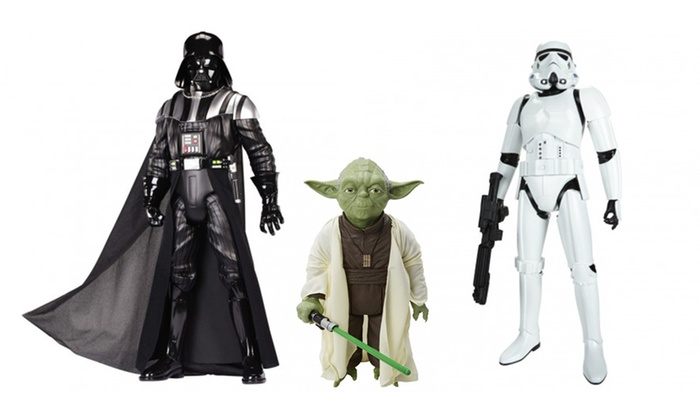figurines collector star wars groupon shopping. Black Bedroom Furniture Sets. Home Design Ideas