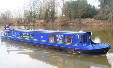 Worcestershire: 3 or 4Night Boat Hire for Up To Twelve People with Starline Narrowboats