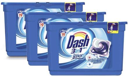 Dash pods 3en1 Touche de Lenor, 117 lavages