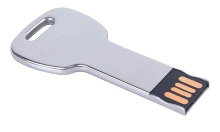 1 o 2 memorias USB 32 GB en forma de llave