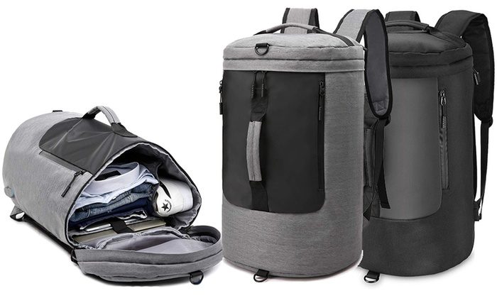 One or Two Travel Duffel Backpacks