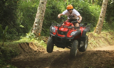 Bali: for a Quad Bike Ride for One or Two with Hotel Transfer, Safety Equipment and Guide from Bali Sun Tours