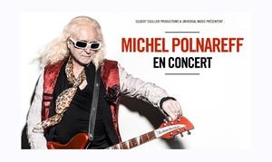 Service aux Spectacles: 1 place pour la tournée de Michel Polnareff en France, dates et villes au choix dès 31,20 €