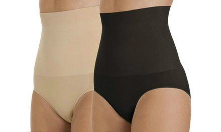 One, Two or Four Women's HighWaisted Slimming Shapers