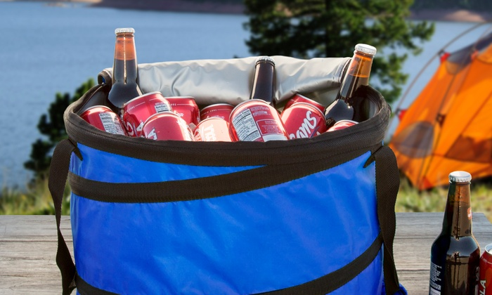 Portable Insulated Collapsible Cooler
