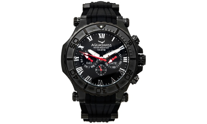 Aquaswiss Bolt 5H Stainless Steel Watch 3