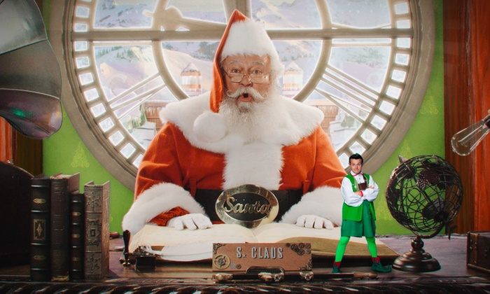 personalized santa packages packagefromsanta com groupon