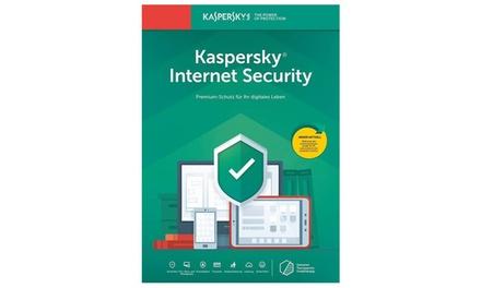 Kaspersky Internet Security 2020 para 1, 3, 5 o 10 dispositivos durante 1 año para descargar (Envío gratuito)