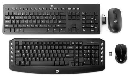 Draadloos toetsenbord en muis van HP