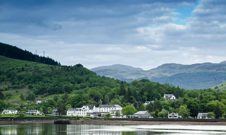 Arrochar Alps: 1 to 3 Nights for Two with Breakfast, Late Check-Out and Option for Dinner and Wine at The Arrochar Hotel