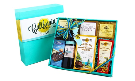 California Wine Greetings Gift Box (7-Piece)
