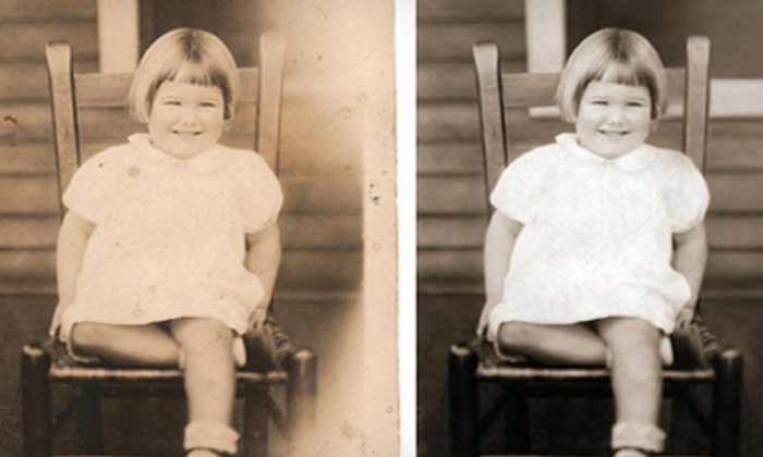 Shoebox Photo Restoration - Knoxville: Digital-Photo Restoration from Shoebox Photo Restoration (Half Off). Two Options Available.