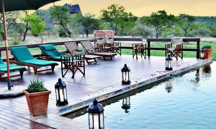 Mangwa Valley Game Lodge - Mangwa Valley Game Lodge: Gauteng: Accommodation, Meals, Massage and Game Drive for Two at Mangwa Valley Game Lodge