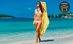 Visage Beauty: 4, 8 ou 12 sessões de massagem modeladora e drenagem linfáticana Visage Beauty – Santo André
