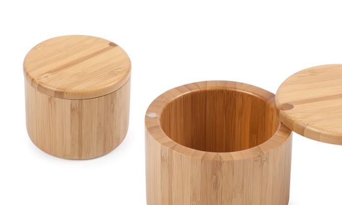 Core Bamboo Natural Wood Salt Cellar  sc 1 st  Groupon & Core Bamboo Natural Wood Salt Cellar | Groupon