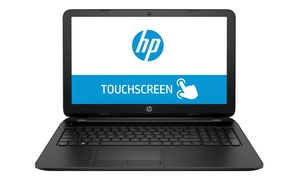 """Hp Touchsmart 15.6"""" Touchscreen Laptop With 2ghz Amd Quad-core Cpu, 4gb Ram, And 500gb Hdd (manufacturer Refurbished)"""
