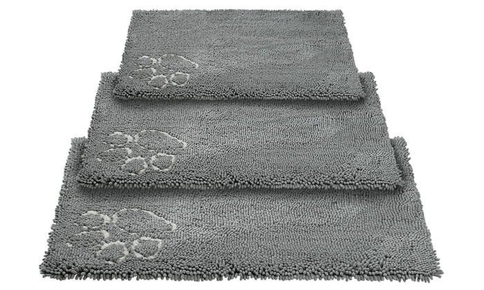 Bunty Soft Long Pile Microfibre Mat in Choice of Size from £3.88