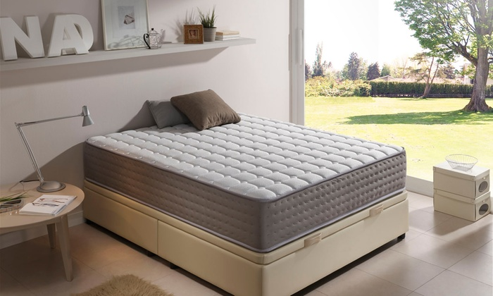 jusqu 39 90 matelas graphene deluxe 30 cm groupon. Black Bedroom Furniture Sets. Home Design Ideas
