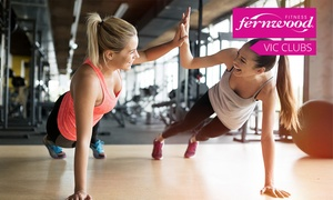 Fernwood Fitness:  Fernwood Fitness: One-Month Gym Membership for One ($10) or Two People ($19) - 24 Locations