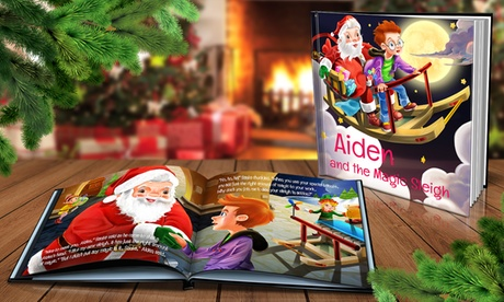 Personalized Soft- or Hard-Cover Holiday Book from Dinkleboo (Up to 77% Off)
