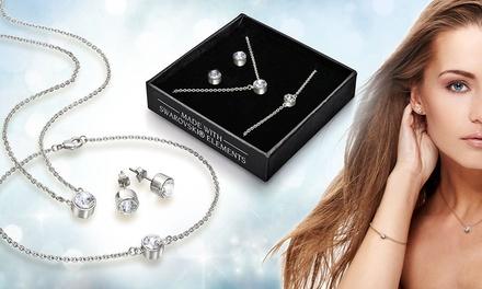 Set de joyería con cristales de Swarovski®