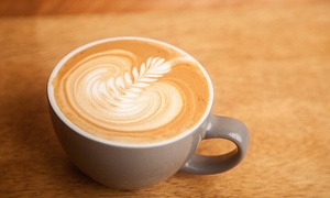 The Temporarium: Coffee, Cafe Drinks, and Locally Made Pastries at The Temporarium (Up to 40% Off)
