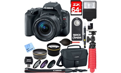 Canon EOS Rebel SL2 24.2MP DSLR Camera Bundles 25d58c33-a0f3-4944-8546-701614a46a62