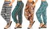 Junior Women's Printed Beach Pants: Junior Women's Printed Beach Pants