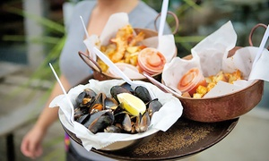 $40 For $60 Toward Seafood And American Dinner At Captain James Landing