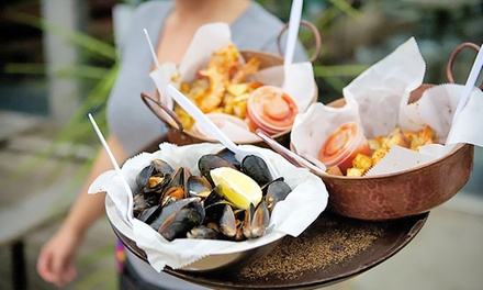 33% Off Seafood and American Cuisine at Captain James Landing