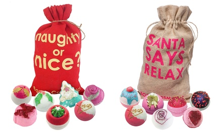 One or Two Bomb Cosmetics Bath Bomb Sack Gift Sets