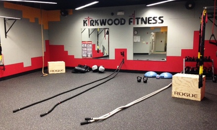 One- or Three-Month Gym Membership at Kirkwood Fitness and Racquetball Clubs (Up to 68%Off)