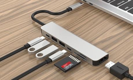 Adaptador USB C 7 in 1