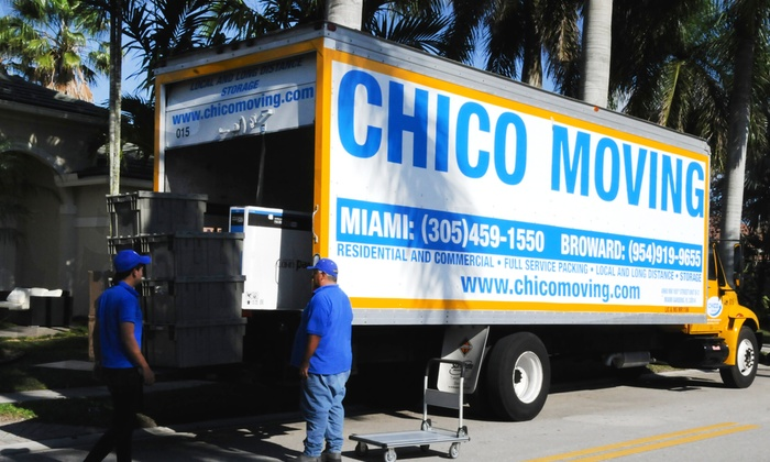 Chico Moving - Miami: Three Hours of Moving Services from Chico Moving (50% Off)