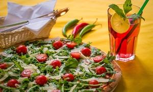 Giotto Piec & Grill: Danie do wyboru: pizza, sałatka lub burger dla 2 osób za 34,99 zł i więcej opcji w Giotto Piec & Grill (do -42%)