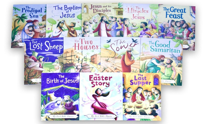 Up To 73% Off on My First Bible Stories Books Set | Groupon