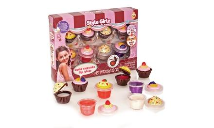 Cutie Cupcake Lip Gloss Set